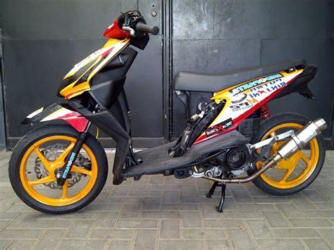 koleksi download foto modifikasi motor honda beat terbaru