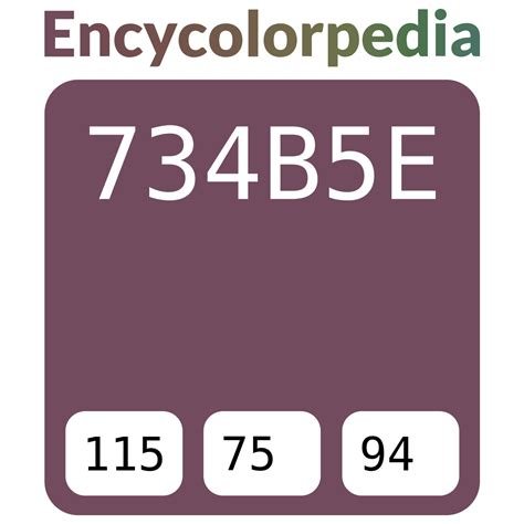 nerolac muted plum 2238 734b5e hex color code