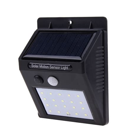 Waterproof 6 Led Solar Power Infrared Pir Motion Sensor Panel Induction Garden Outdoor Wall.html