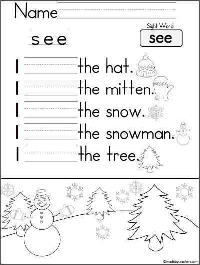kindergarten writing practice madebyteachers