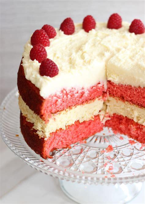 raspberry white chocolate cheesecake cake