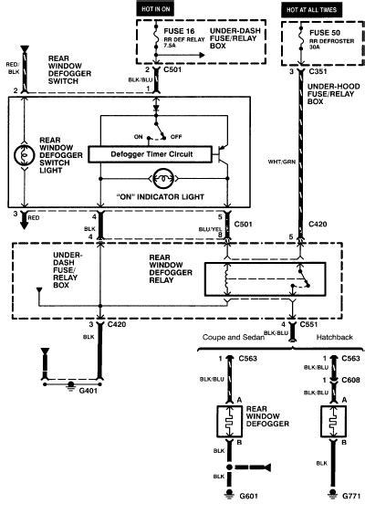 free auto wiring diagram 1997 honda civic rear
