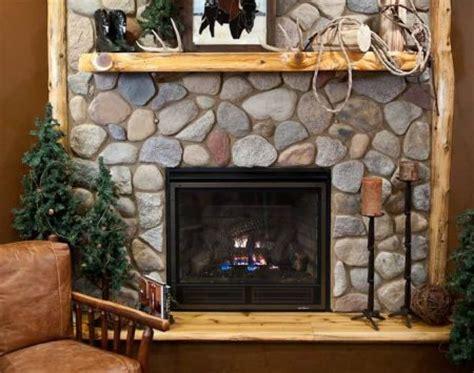 white cedar slab log mantels