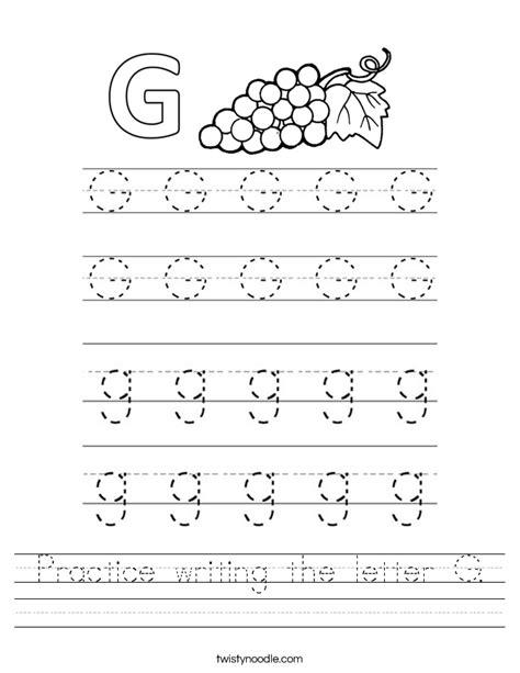 practice writing letter worksheet twisty noodle