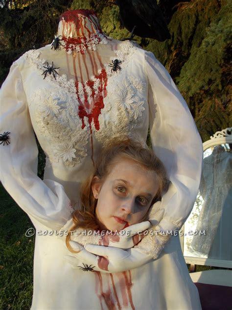 haunting headless bride costume 9 year girl halloween