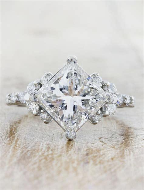 loxlynn princess cut diamond engagement ring ken dana