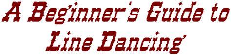 beginner guide linedancing