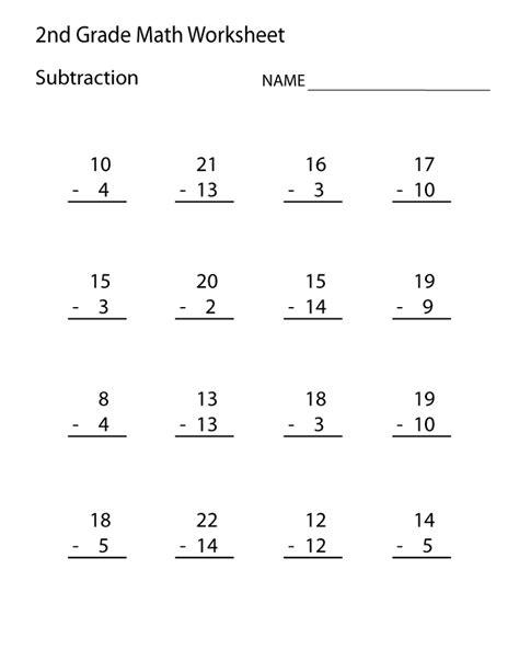 free 2nd grade math worksheets activity shelter