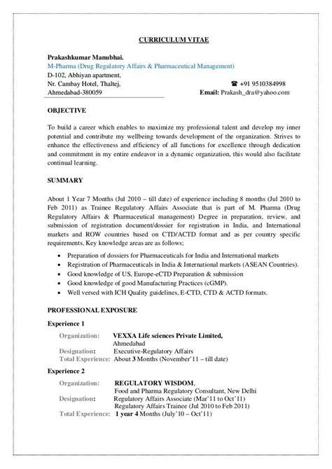 4956 resume format resume format freshers resume exles