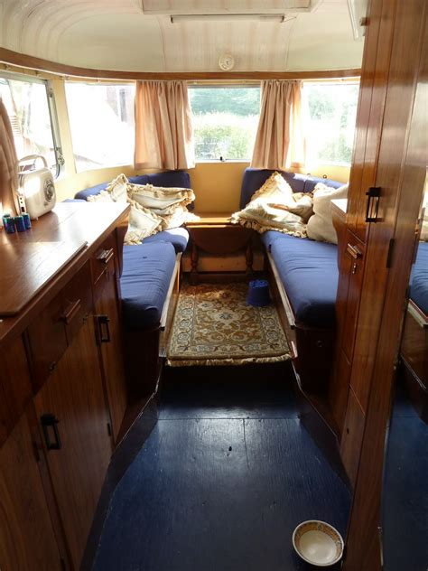 1940s 50s vintage caravan interior homer simpson flickr