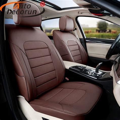 autodecorun 12pcs set genuine leather seat covers acura