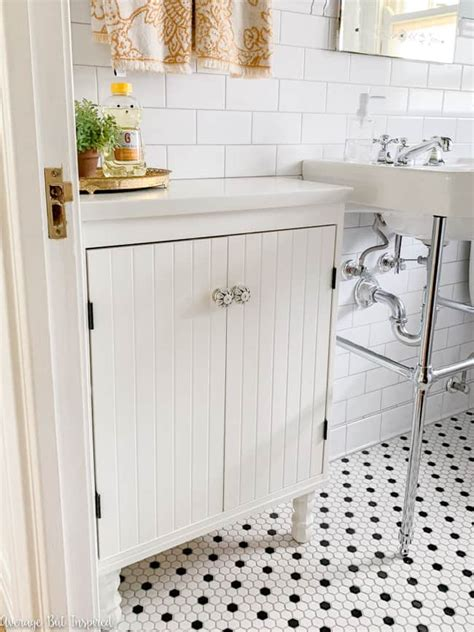 ikea bathroom vanity hack ikea silveran shallow space