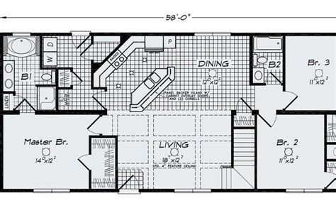 cool open floor plans ranch homes home plans