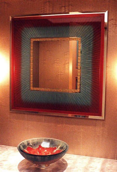 mirror decorative bathroom mirrors vibrance