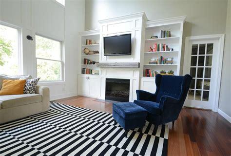 living room updates ikea stockholm rug decor dog