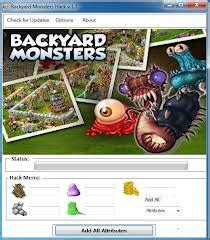backyard monsters hack 2012 v2 07 password crackapps