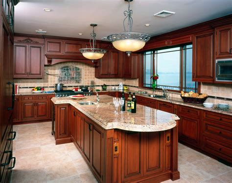 Paint Color Kitchen With Cherry Cabinets.html