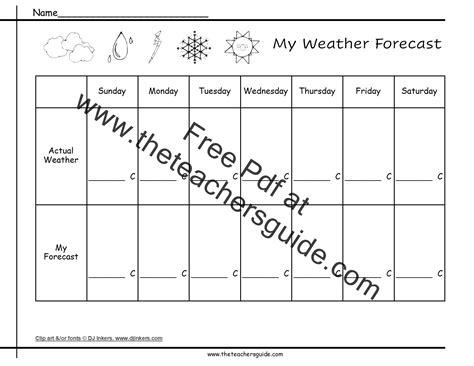 weather worksheet 291 weather report worksheet