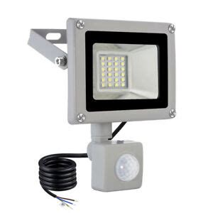 outdoor 20w pir motion sensor led cool white