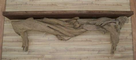 discover beauty driftwood mantel