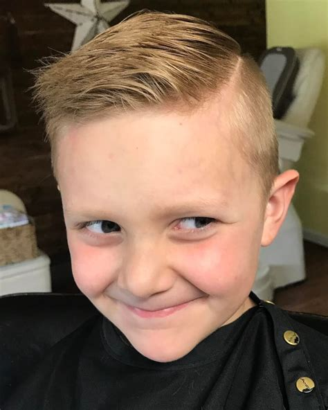 31 cute boys haircuts 2019 fades pomps lines
