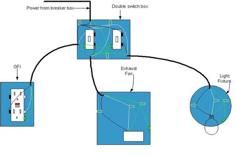electrical diagram bathroom bathroom wiring diagram desk home