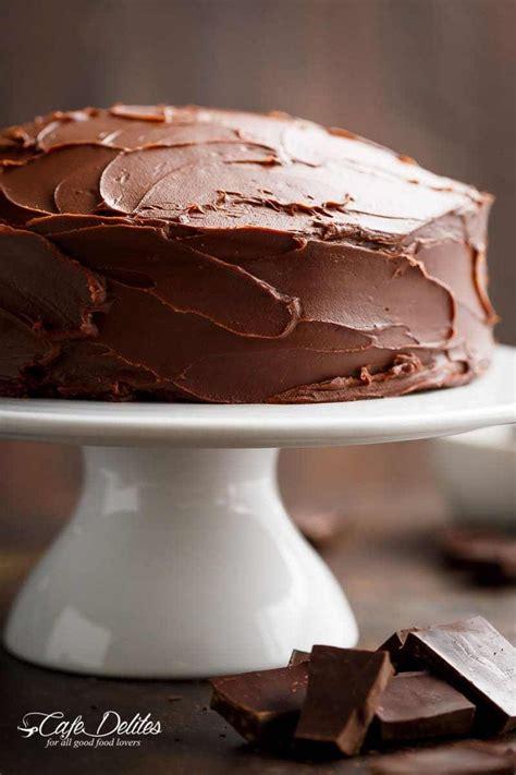 fudgy chocolate cake cafe delites fudgy chocolate chocolate