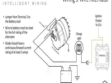 single wire alternator conversion diagram wiring forums