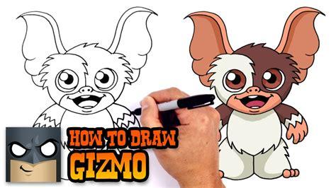 draw gizmo gremlins youtube