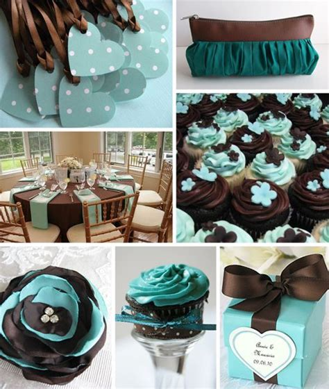 Wedding Decor Blue And Brown.html