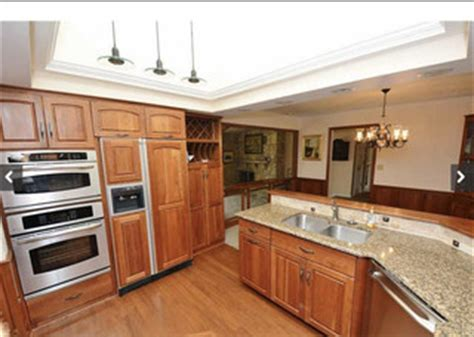 paint colors work cherry cabinets wainscotting
