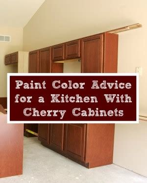 Paint Color Kitchen Cherry Cabinets.html
