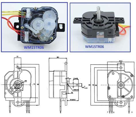 washing machine timer parts single lock washing machine