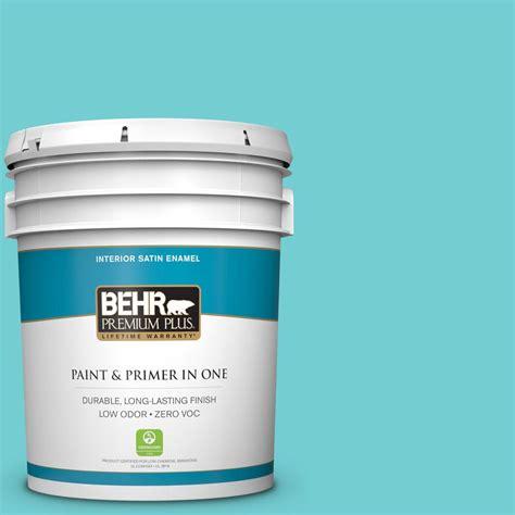 behr premium 5 gal p460 3 soft turquoise