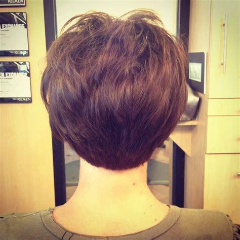 short stacked bob haircut debbie encounters salon haircut