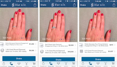 app feature lets virtually engagement rings actual hand
