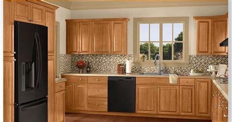 color schemes honey oak cabinets home depot kitchen