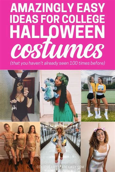37 easy college halloween costumes ideas 2019