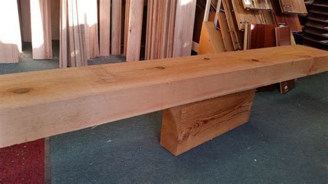 fireplace mantel cedar timber beam rustic rough solid