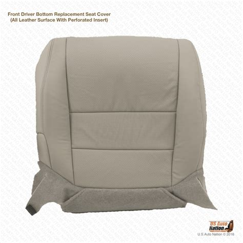 2007 acura tl driver bottom replacement perforated leather
