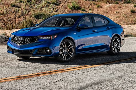 2018 acura tlx spec test review sort sporty