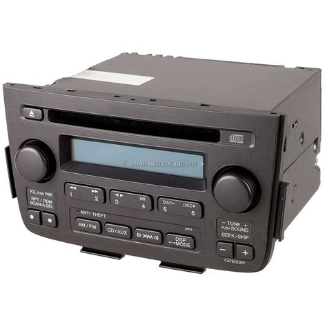 2005 acura mdx radio cd player car parts