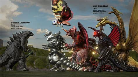 evolution godzilla monsters size comparison youtube