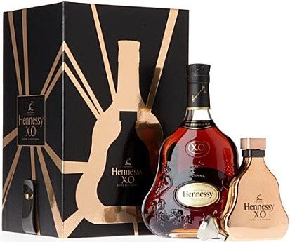 cognac hennessy gift box flask 700 ml hennessy