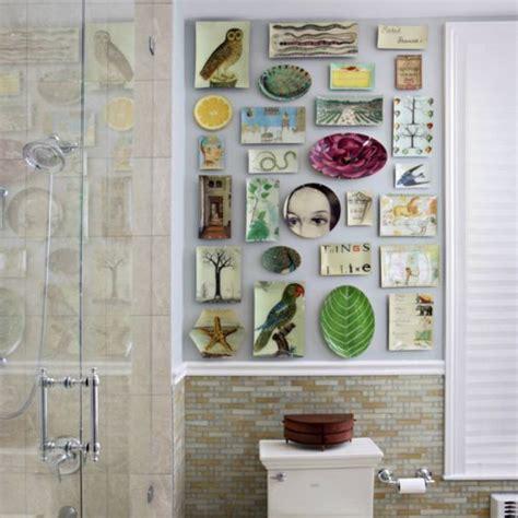 Unique Bathroom Wall Decor