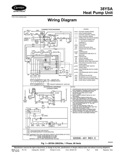 38ysa heat pump unit wiring diagram manualzz