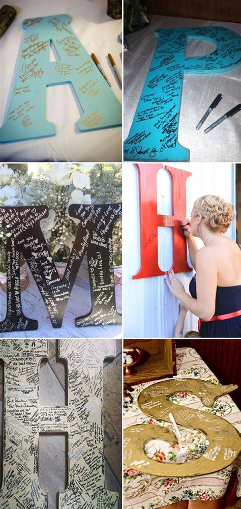 10 diy unique guest book ideas weddings elegantweddinginvites