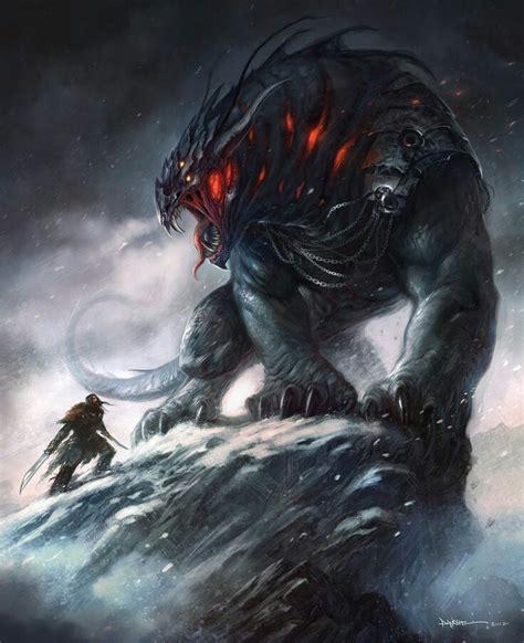 desolation giant abomination images fantasy monster fantasy beasts