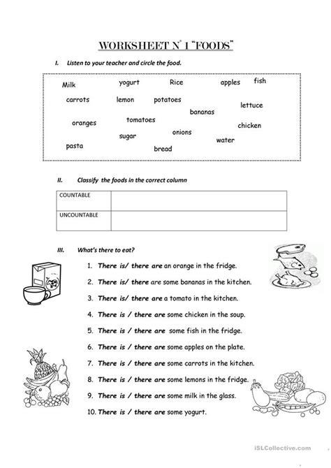 count count nouns worksheet free esl printable worksheets
