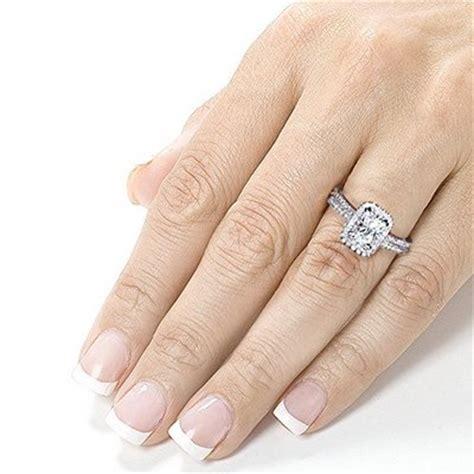 hand engagement ring dream wedding ideas